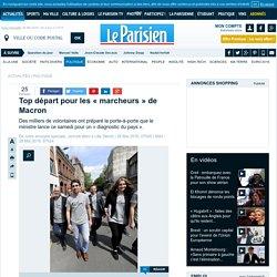 Top départ pour les «marcheurs» de Macron