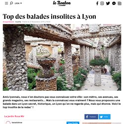 Top des balades insolites à Lyon