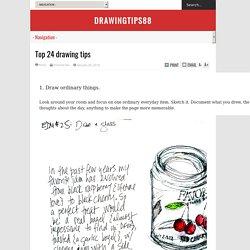 Top 24 drawing tips