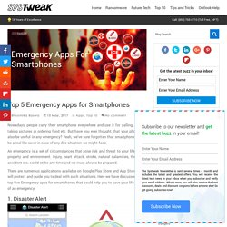 Top 5 Emergency Apps for Smartphones