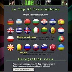 Le Top 50 est terminé/has finished