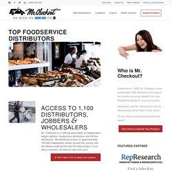 Top 10 Foodservice Distributors