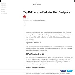Creative Guidelines- Top 10 Free Icon Packs for Web Designers