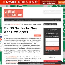 Top 50 Guides for New Web Developers