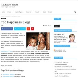 Top Happiness Blogs