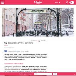 Top des jardins d'hiver parisiens