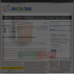 Top 10 Java Books you don't want to miss