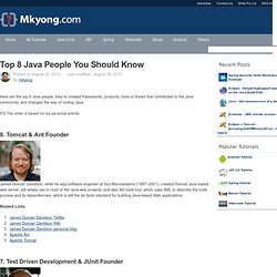 Top 8 Java People You Should Know