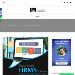 Top 10 Key Features of HRMS Software