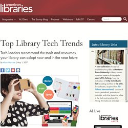 Top Library Tech Trends