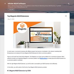 Top Magento MLM Extensions