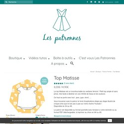 Top Matisse - Les patronnes
