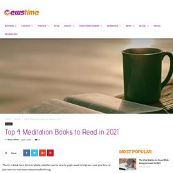 Top 4 Meditation Books to Read in 2021