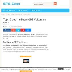 Top 10 des meilleurs GPS Voiture en 2016