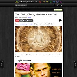 Top 10 Mind-Blowing Movies One Must See