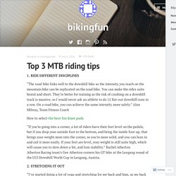 Top 3 MTB riding tips – bikingfun