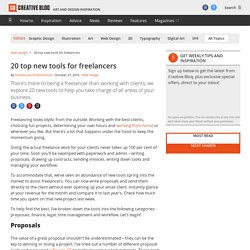20 top new tools for freelancers