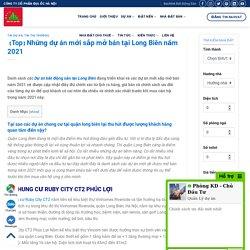 【Top】Những dự án mới sắp mở bán tại Long Biên năm 2021