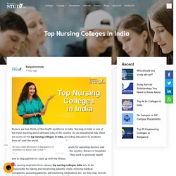 Top Nursing Colleges in India