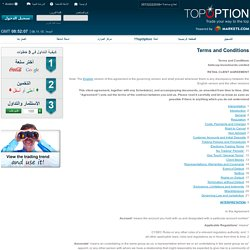 Top Option – Terms And Conditions