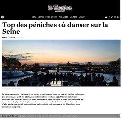 Top des péniches où danser sur la Seine
