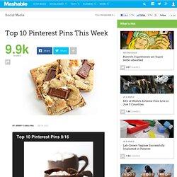 Top 10 Pinterest Pins This Week
