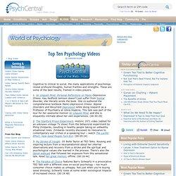 Top Ten Psychology Videos