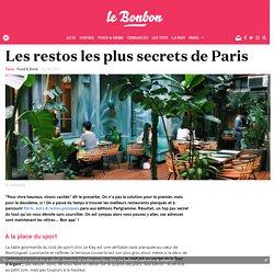 Top des restos cachés de Paris