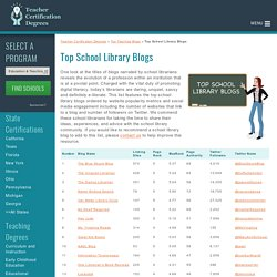 Top School Library Blogs