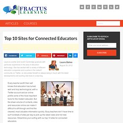 Top 10 Sites for Connected Educators