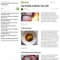 Top 10 Skills to Master Your Grill