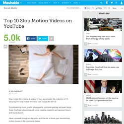Top 10 Stop Motion Videos on YouTube