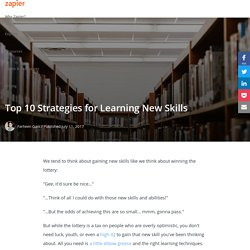 Top 10 Strategies for Learning New Skills