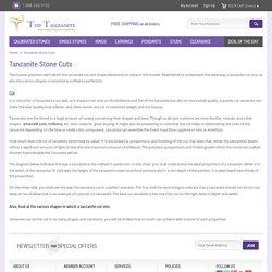 Top Tanzanite – Types of Cuts in Tanzanite