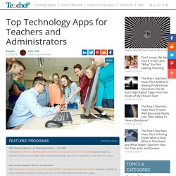25 Top Technology Apps for Teachers