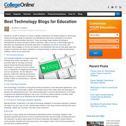 Top 10 Technology Blogs for Education
