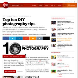 Top ten DIY photography tips