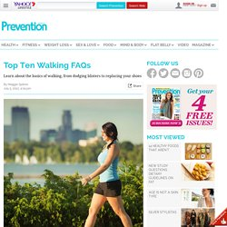 Top Ten Walking FAQs - New Idea Magazine - Yahoo!7 Lifestyle