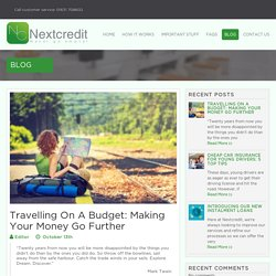 Top Tips For Travelling On A Budget