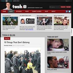 TOSH TOP TENS
