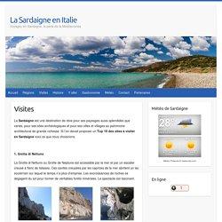 Top 10 visites Sardaigne
