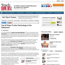 Top 22 Ways To Use Technology in the Classroom
