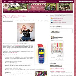 Top WD-40 Uses for Moms : Heart at Home
