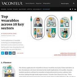 Top wearables across 10 key sectors