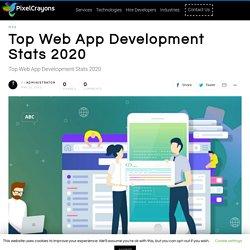 Top Web App Development Stats 2020