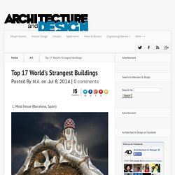 Top 17 World's Strangest Buildings