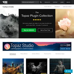 Topaz Labs Store - Buy Topaz products