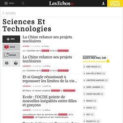 Topic - Sciences Et Technologies - Les Echos