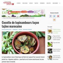 Cocotte de topinambours façon tajine marocaine