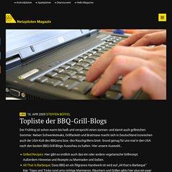 Topliste der BBQ-Grill-Blogs – Netzpiloten Magazin